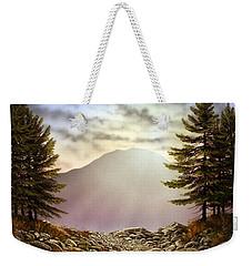 Evening Trail Weekender Tote Bag