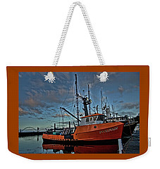 Weekender Tote Bag featuring the photograph Evolution by Thom Zehrfeld
