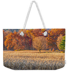 Fading Fall Weekender Tote Bag