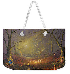 The Enchanted Forest Weekender Tote Bag