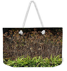 Fall Contrasts Weekender Tote Bag