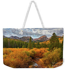 Fall In Rocky Mountain National Park Weekender Tote Bag by Ronda Kimbrow