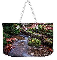 Fall In The Woods Weekender Tote Bag