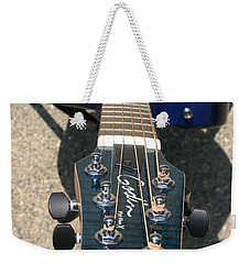 Weekender Tote Bag featuring the photograph Fall Melody by Marie Neder
