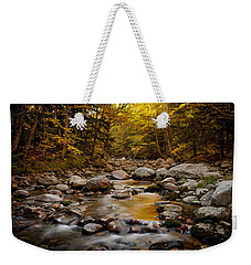 Fall On The Gale River Weekender Tote Bag