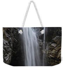 Falls Weekender Tote Bag by Rod Wiens
