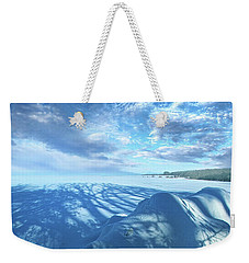 Weekender Tote Bag featuring the photograph Far And Away by Phil Koch