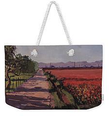 Farm Road Weekender Tote Bag