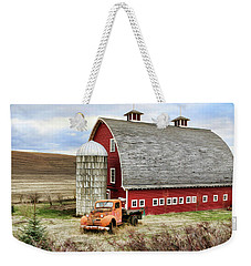 Farm Truck Weekender Tote Bag by Steve McKinzie