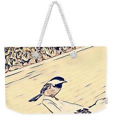 Feed The Birds Weekender Tote Bag