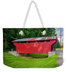 Feedwire Covered Bridge - Carillon Park Dayton Ohio Weekender Tote Bag