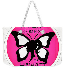 Weekender Tote Bag featuring the digital art Female Comics Of Hawaii by Erika Swartzkopf