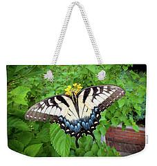 Female Eastern Tiger Swallowtail  Weekender Tote Bag