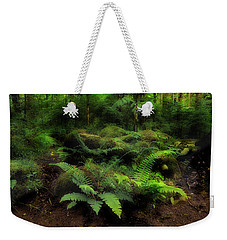 Ferns Of The Forest Weekender Tote Bag