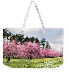 Field Of Dreams Weekender Tote Bag by Jessica Jenney