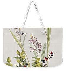 Field Sparrow Weekender Tote Bag
