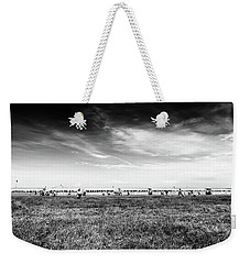 Weekender Tote Bag featuring the photograph Fields Of The Elysium Locomotive by John Williams