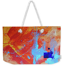 Fire And Ice Weekender Tote Bag by John Jr Gholson