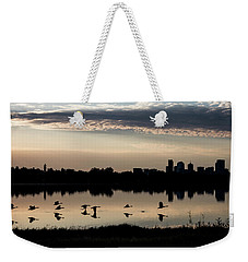 First Flight At Sunrise Weekender Tote Bag