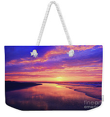 First Light At The Beach Weekender Tote Bag