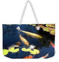 Fish Pond Weekender Tote Bag