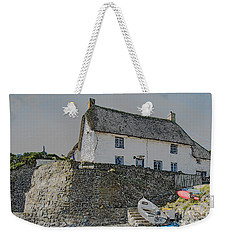 Weekender Tote Bag featuring the photograph Fishermans Cottage by Brian Roscorla
