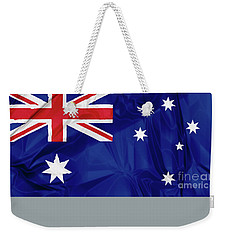 Flag Of Australia Weekender Tote Bag