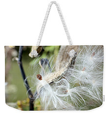 Flight Of The Milkweed Weekender Tote Bag