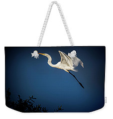 Floating On Air Weekender Tote Bag by Cyndy Doty