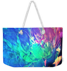 Floral Abstract 17-01 Weekender Tote Bag