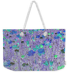 Flower Background Weekender Tote Bag by Patricia Hofmeester