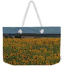 Flower Landing Weekender Tote Bag