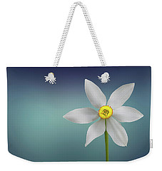 Weekender Tote Bag featuring the photograph Flower Paradise by Bess Hamiti