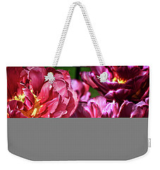 Flowers And Fractals Weekender Tote Bag