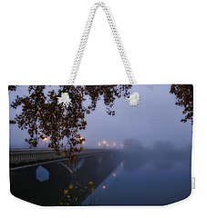 Fog On The River Weekender Tote Bag