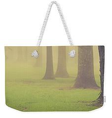 Foggy Trees Pano Weekender Tote Bag