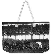 Football Game, 1925 Weekender Tote Bag by Granger