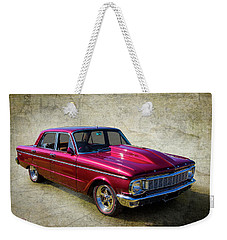 Weekender Tote Bag featuring the photograph Ford Falcon by Keith Hawley