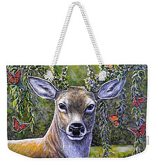 Forest Monarch Weekender Tote Bag