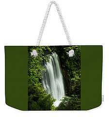 Forest Waterfall Weekender Tote Bag
