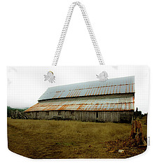 Weekender Tote Bag featuring the photograph Forgotten Farmstead by Kandy Hurley