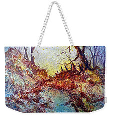 Forgotten Fence Weekender Tote Bag