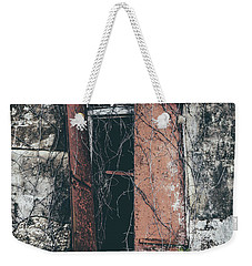 Weekender Tote Bag featuring the photograph Forgotten Homestead by Kim Hojnacki