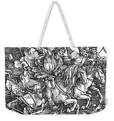 Four Horsemen Of The Apocalypse Weekender Tote Bag
