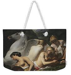 Four Muses And Pegasus Weekender Tote Bag