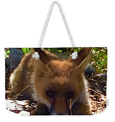 Fox Joy Weekender Tote Bag by Colette V Hera Guggenheim