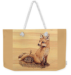 Fox Weekender Tote Bag by Ron Haist