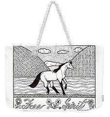 Free Spirit Weekender Tote Bag