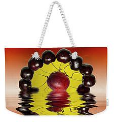 Fresh Cherries And Plums Weekender Tote Bag