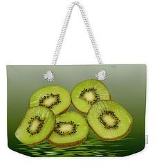 Fresh Kiwi Fruits Weekender Tote Bag by David French